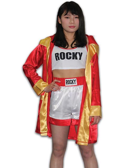 Fato de Rocky Balboa para mulher