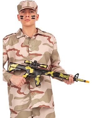 Mitraillette camouflage