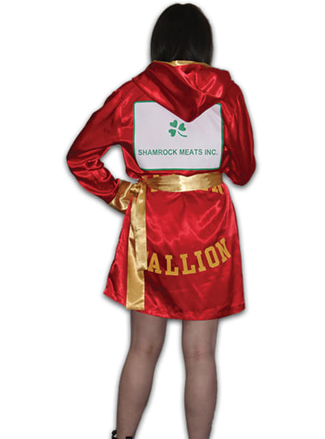 Disfraz de Rocky Balboa para mujer