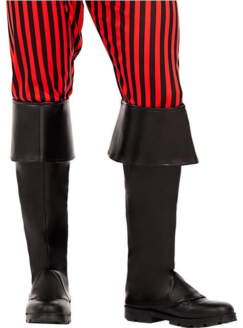 Černé kryty na boty