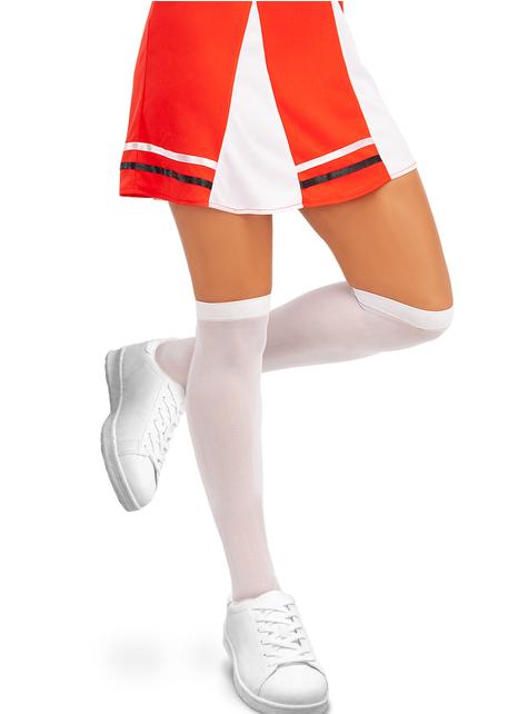Chaussettes hautes blanches - pour votre déguisement