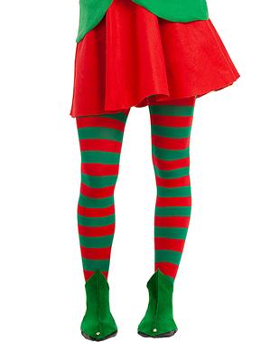 kasut elf hijau