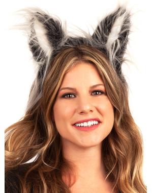 Bandolete com orelhas de lobo