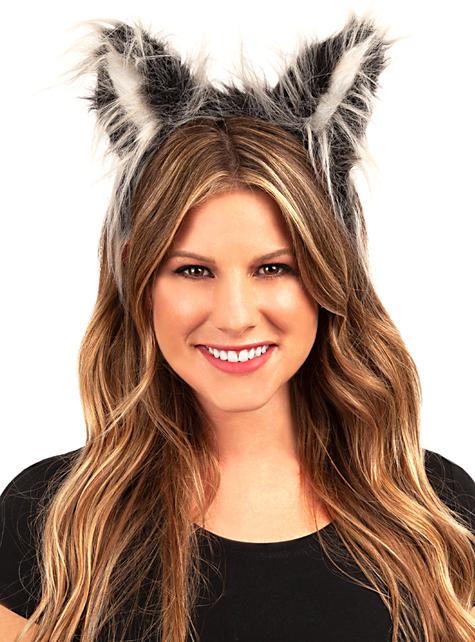Čelenka s vlčíma ušima - ke svému kostýmu