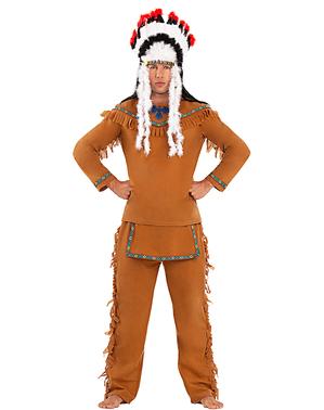 Fjäderskrud Indian