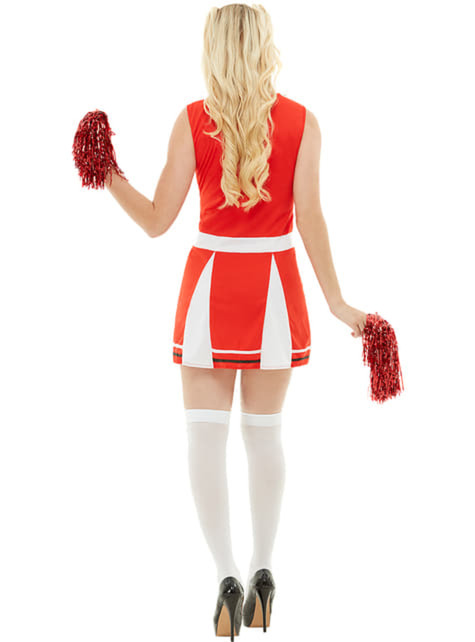 Grote maat Cheerleader kostuum - origineel