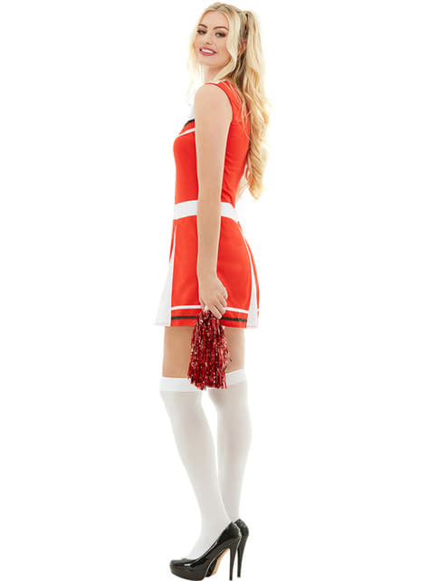 Cheerleader costume plus size - fancy dress