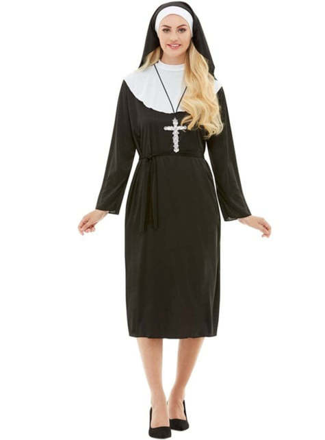 Nonne Kostüm große Größe