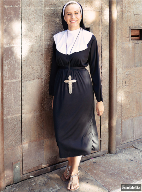 Nonne Kostüm große Größe - damen