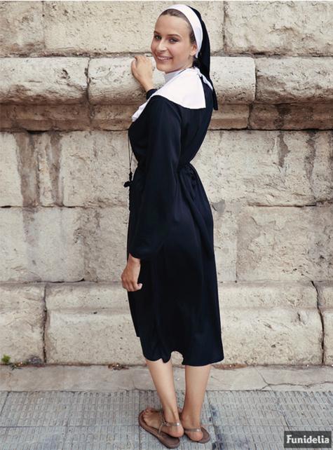 Nun costume plus size - fancy dress