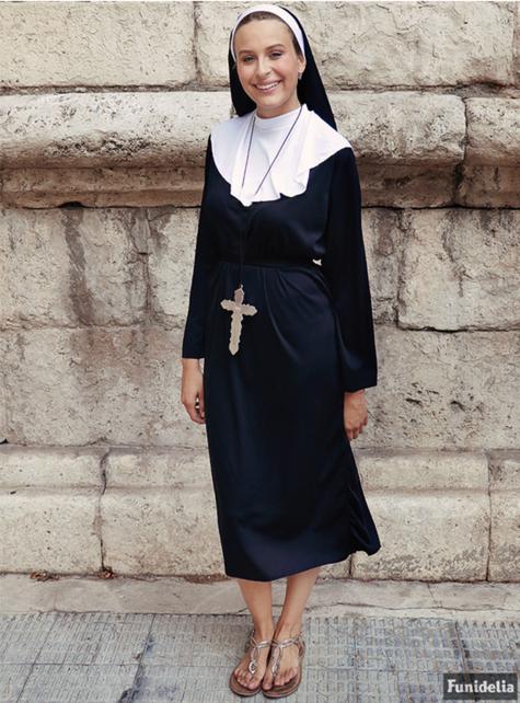 Strój zakonnicy duży rozmiar - tanio