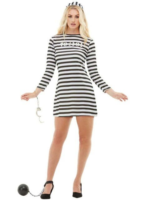 Prisoner costume for women plus size
