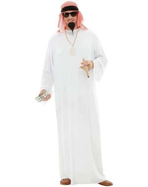 Vestito da arabo taglie forti