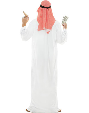 Strój Araba duży rozmiar
