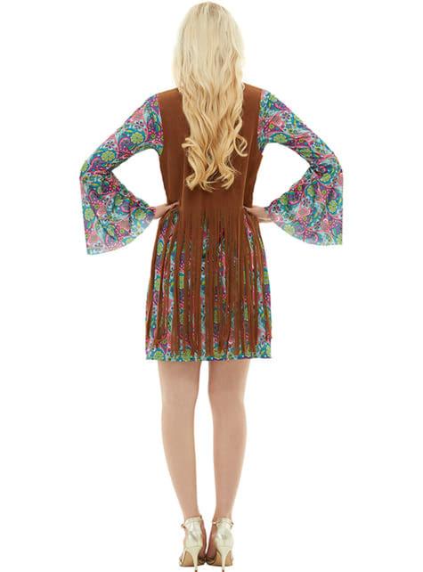 Déguisement hippie femme grande taille - déguisement