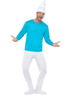 Smurf plus size kostyme