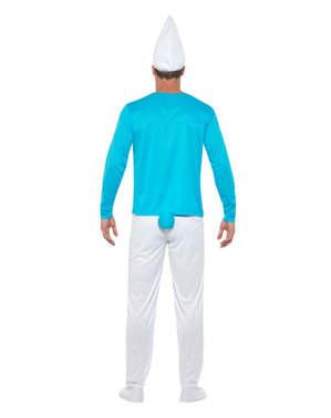 蓝精灵服装加上大小