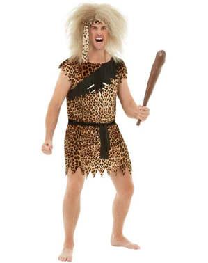 Caveman kostum plus velikost