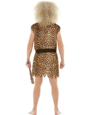 Kostým Jaskynný muž plusová veľkosť
