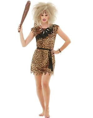 Cavewoman plus size kostyme