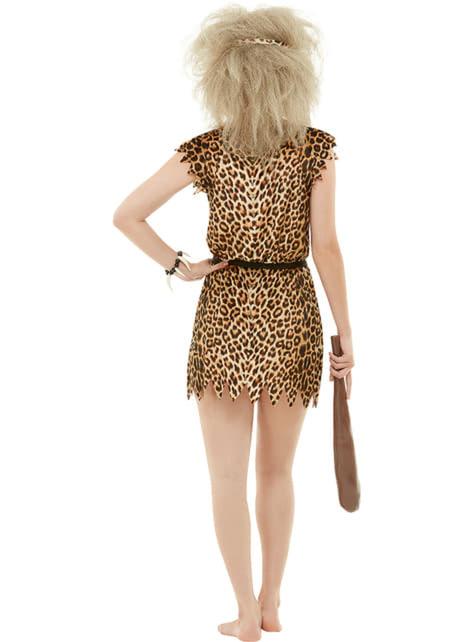 Disfraz de troglodita para mujer talla grande