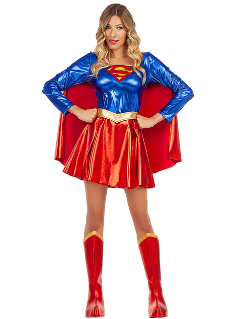 Seksi Supergirl kostim za žene