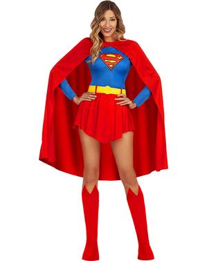 Fato de Supergirl para mulher