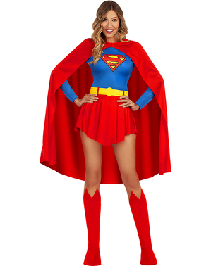 Supergirl kostüüm naistele