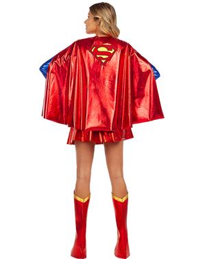 Capa de Supergirl para mujer