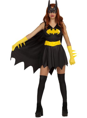 Licensed Ladies Batgirl Batwoman Costume Bat Girl Women Halloween Superhero