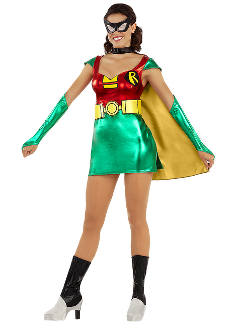 Robin costume for women
