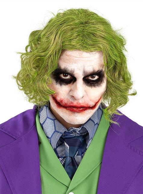 Da Uomo Joker Guanti Adulto Batman Cavaliere Oscuro Costume Accessorio