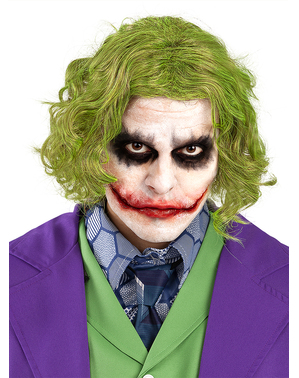 Joker peruk vuxen - The Dark Knight