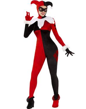 Женский костюм Харли Куинн - DC Comics