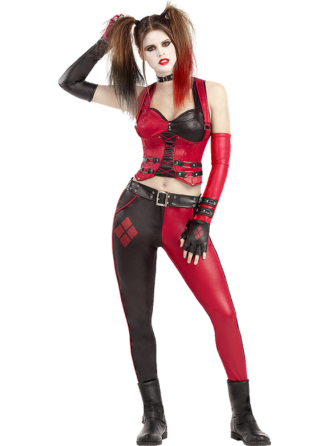 Harley Quinn kostuum - Arkham City