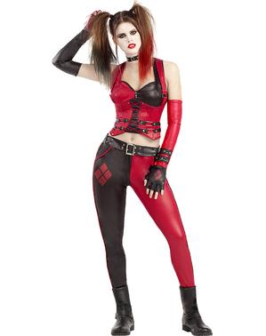 Харли Куинн женский костюм - Аркхем Сити