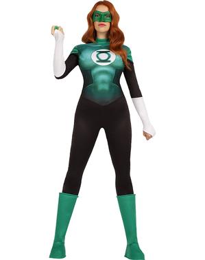 Fato de Lanterna Verde para mulher