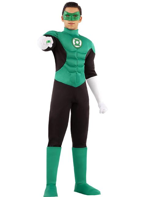 Green lantern costume adult