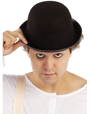 Bowler's hat for adults - A Clockwork Orange