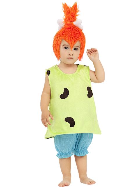 Fato de Pebbles para bebé - Os Flintstones