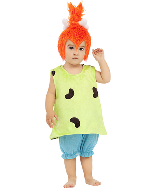 Pebbles kostuum voor baby' s - The Flintstones