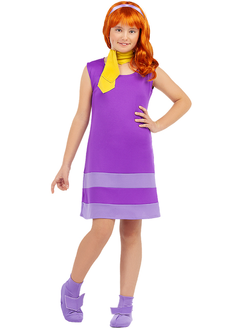 Daphne costume for girls - Scooby Doo