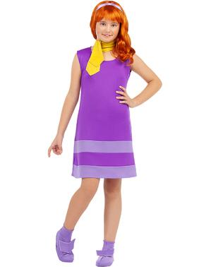Fato de Daphne para menina - Scooby Doo