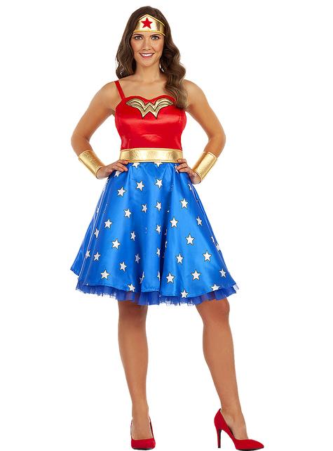 Disfraz de Wonder Woman clásico