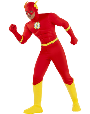 flash kostiumas