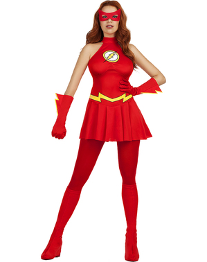 Flash costume for women