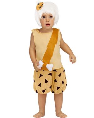 Fato de Bam-Bam para bebé - Os Flintstones