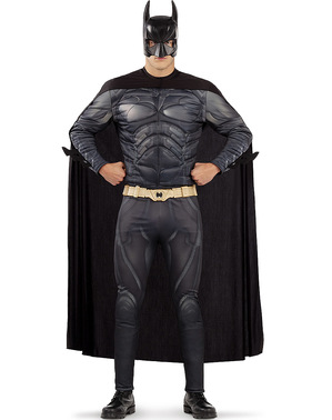 Батман костюм в плюс размер