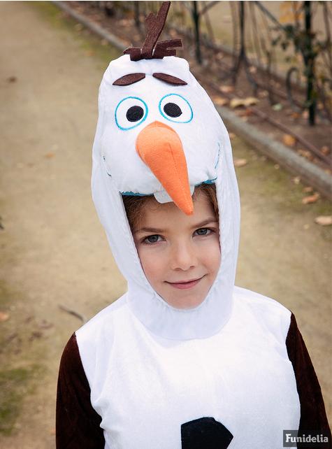 Замороженный костюм Олафа для ребенка