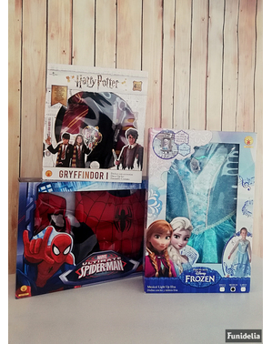 Ultimate Spiderman Kostüm Box für Jungen